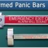 Alarmed Panic Bars